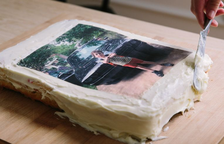 The Nostalgia of Carvel-Style Photo Cakes
