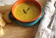 Creamless Creamy Asperagus Soup