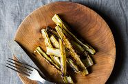 Anna Klinger's Grilled Swiss Chard Stems with Anchovy Vinaigrette