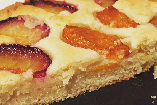 Apricot & Plum Frangipane Tart