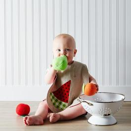 Summer Produce Baby Bibs