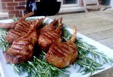 Rosemary Smoked Lamb Chops