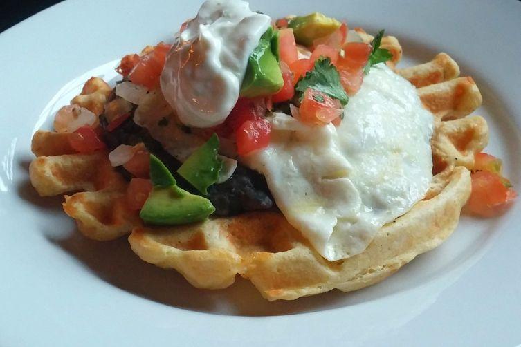 The Ultimate Savory Waffle