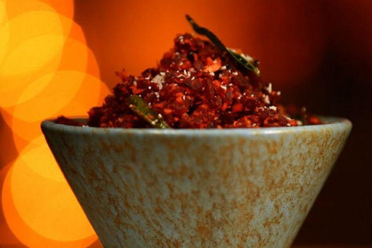 South Indian Kitchen: Beetroot Poriyal