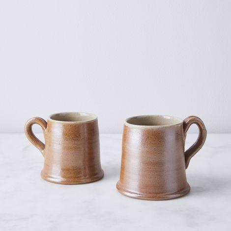 Vintage French Stoneware Mug
