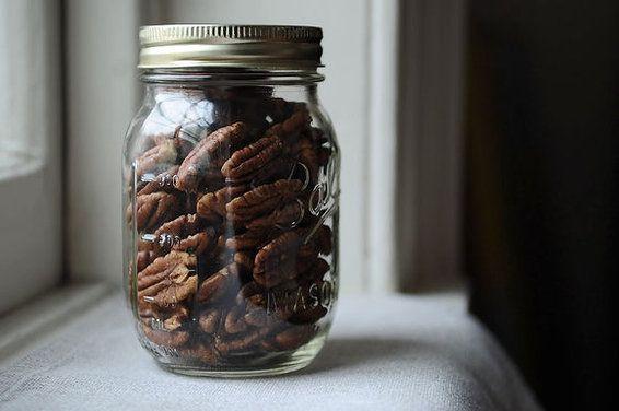 Crispy Spice Brined Pecans
