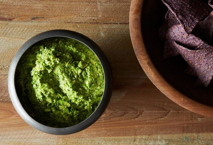 Amanda Makes Smashed Pea Guacamole with Cilantro, Ginger and Lime