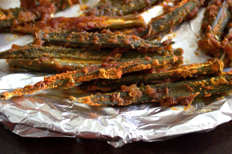 SPICY BAKED OKRA FRIES Recipe on Food52
