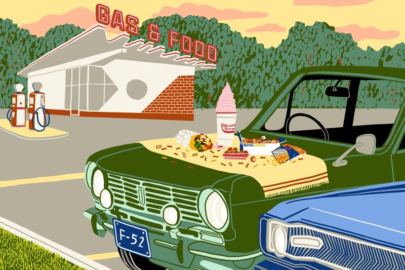 13 US Gas Station Foods We'd Drive the Extra Mile For