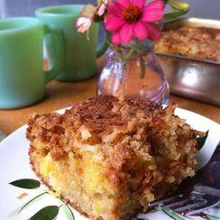 Fresh Pineapple Breakfast Cake