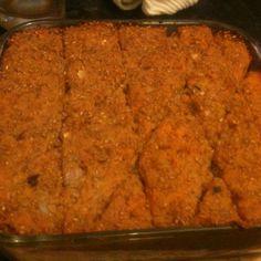 Sweet Potato Kibbeh