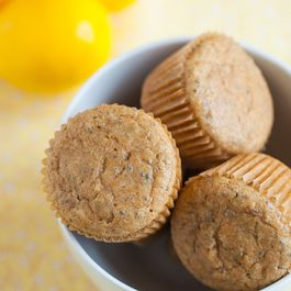 Honey Lemon Chia Seed Muffins