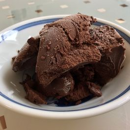 Dark Chocolate Sorbet