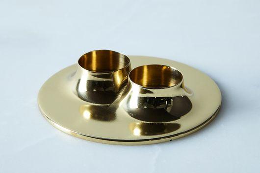 Brass Eleven Candleholder