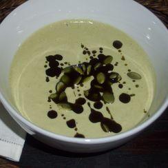 Pumpkin seed soup