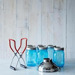 Ball American Heritage Jars (Set of 6) with Canning Lifter & Funnel