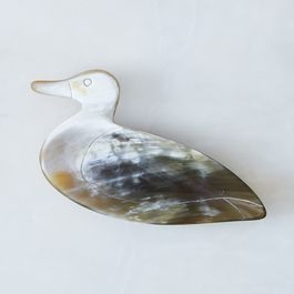 Hand-Carved Duck Dish