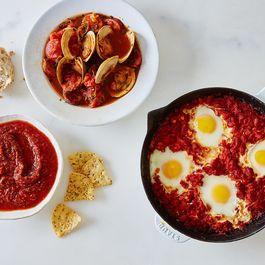 E71f09e9 4ded 47b2 9eef 04790ae52541  2016 0512 tomato yogurt shakshuka smoky clams salsa muir glen infographic bobbi lin 23945