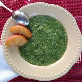 Cold Cucumber-Arugula Soup