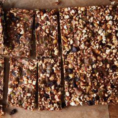 "Popcorn ""Granola"" Bars"