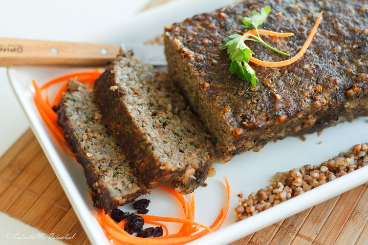 Buckwheat Lamb Meatloaf