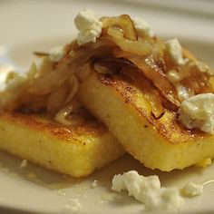 Dinner Tonight: Griddled Polenta Cakes