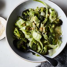 A Plea to Save & Shave Your Broccoli Stems, Then Put Them in Salad