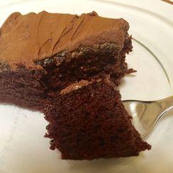 Crazy No Egg Chocolate/Mocha Cake