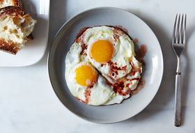 Dinner Tonight: Fried Eggs + Pan Roasted Potatoes