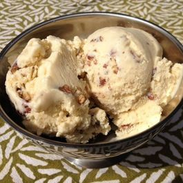Toasted Pecan Maple Ice Cream
