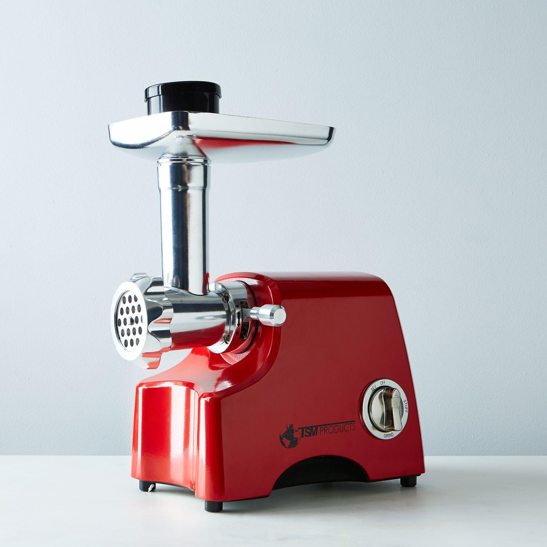 Motorized Meat Grinder ~ Electric meat grinder sausage stuffer on food