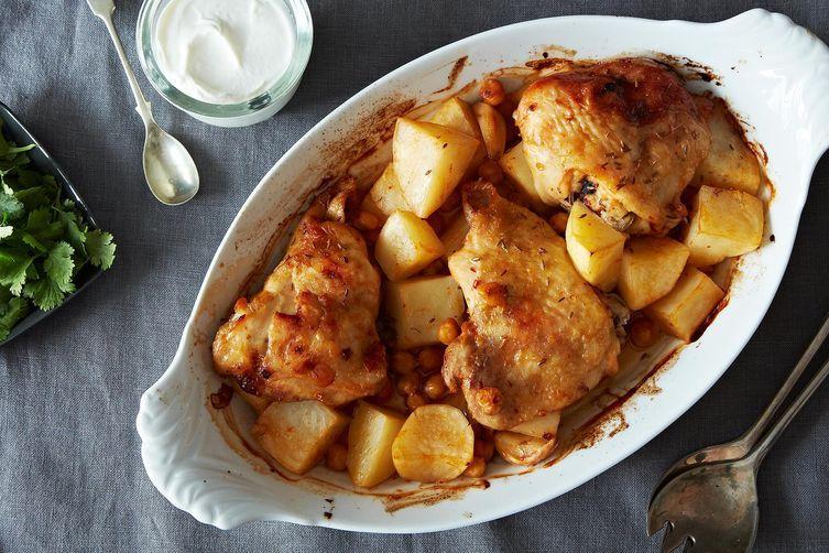 Dinner Tonight: Extraordinary Roasted Chicken + Quick Peanut Butter ...