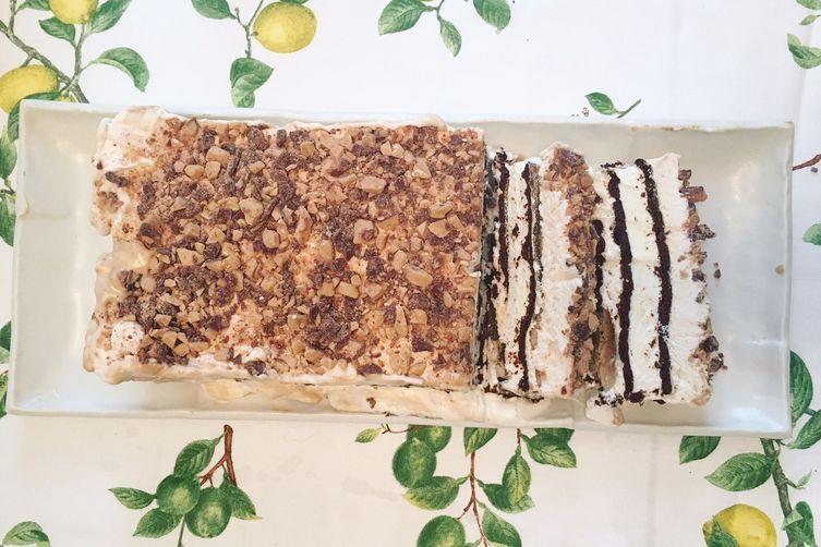 Kahlúa Icebox Cake