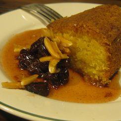Orange Almond Polenta Cake