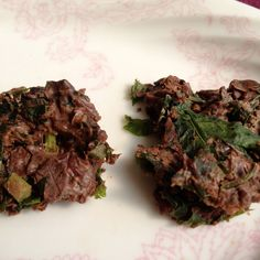 Chocolate Kale Clusters with Cumin & Cranberry, and Kids Version