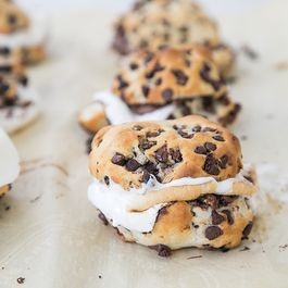 Chocolate Chip Biscuit S'mores