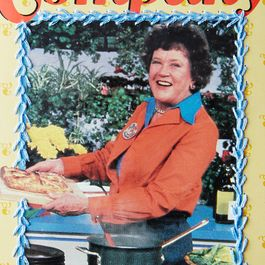 50df9395 8059 4bba 9ed8 a5f18b654d26  jessica reed hand embroidered vintage cookbooks julia child provisions mark weinberg 28 05 14 0219 detail