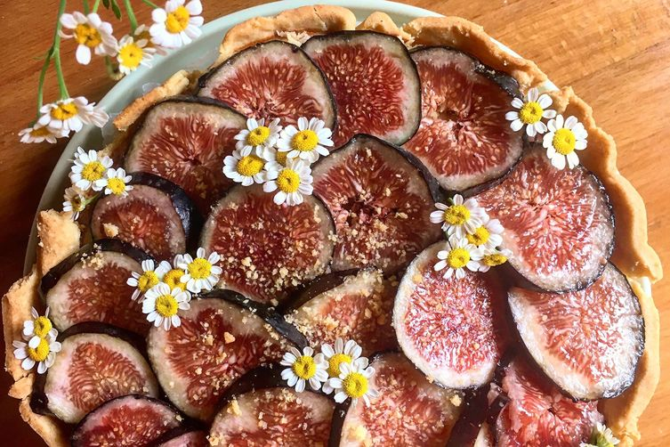Triple fig tart recipe