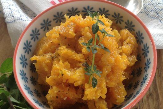 Savory Mediterranean Butternut Squash
