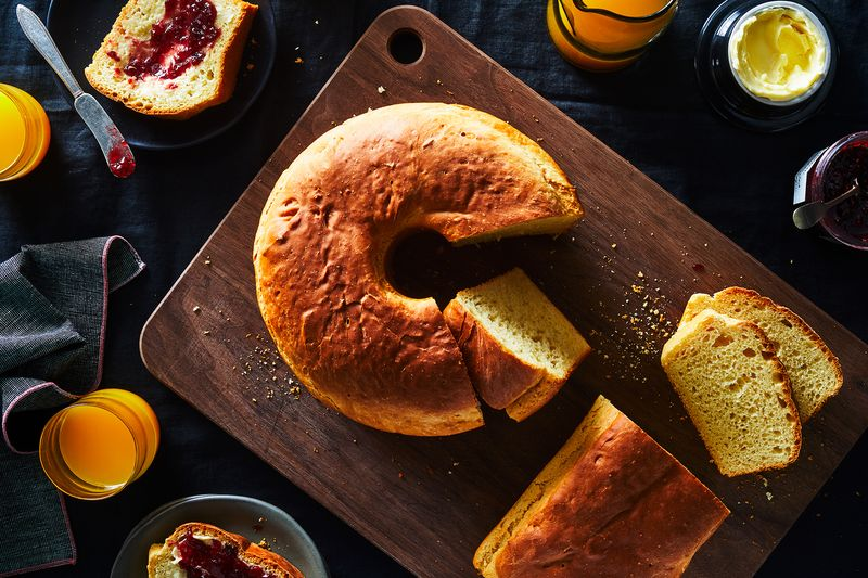 Yes, that Bundt-shaped loaf is just regular bread (but you don't have to bake it that way).