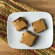 Mocha Brownies with Espresso Dulce de Leche Glaze