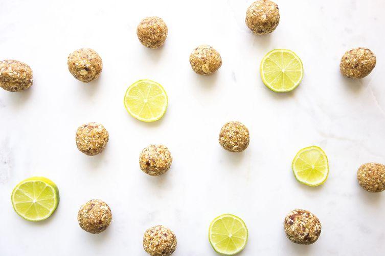 Lime pie balls