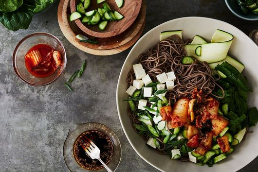 Outdoors-Ready, Vegetable-Filled Korean Noodles You Can Make Without a Recipe