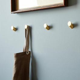 Brass Round Wall Hooks