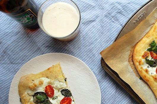 Why You Should Put Yogurt on Your Pizza