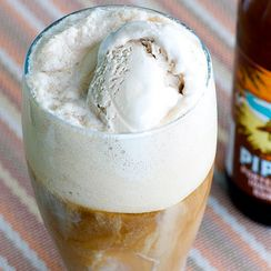 Beer Ice Cream Float