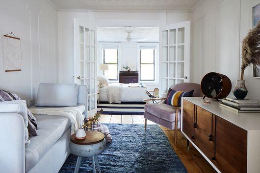 Brooklyn Home Tour: Alex Kalita's Bright Railroad Apartment