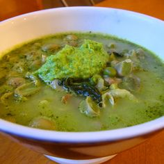 Late Spring Minestrone with Green Pea Pistou