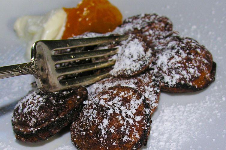 Dutch Chocolate Poffertjes