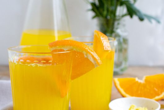 SPICY GINGER ORANGE TEA